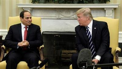 ترامب أشاد بالرئيس المصري بعد افتتاح الكاتدرائية الجديدة