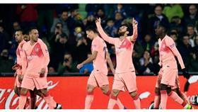 برشلونة يتغلب على خيتافي ويبتعد في الصدارة