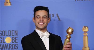 الفنان المصري رامي مالك يفوز بجائزة «غولدن غلوبز» العالمية