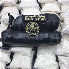 جمارك العبدلي: إحباط تهريب 100 ألف حبة كبتاغون و2 كيلو شبو