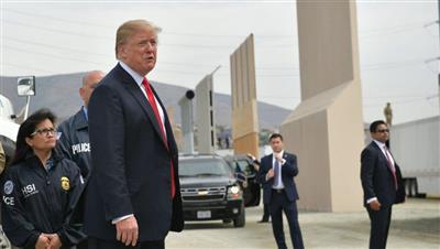 ترامب يتفقد الحدود الامريكية - المكسيكية الخميس المقبل