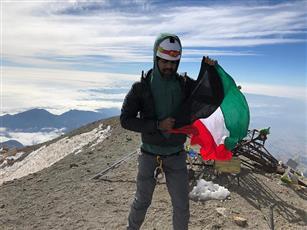 متسلق الجبال يوسف الرفاعي يصل أعلى قمة بركانية بأمريكا الشمالية في إنجاز غير مسبوق