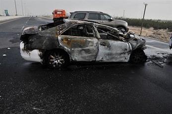«الإطفاء»: وفاة شخص في حادث تصادم على طريق ميناء عبدالله