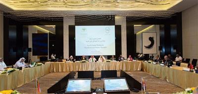 جانب من أعمال الاجتماع الرابع لوكلاء وزارات المالية العرب في أبوظبي