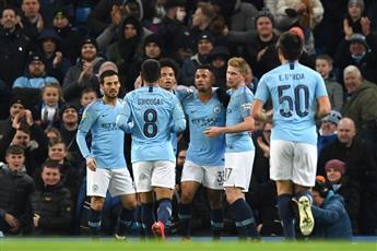 مانشستر سيتي يكتسح بيرتن ألبيون بـ9 أهداف في كأس الرابطة