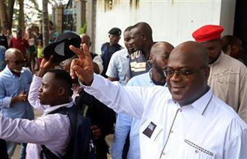فوز المرشح المعارض تشيسكيدي برئاسة الكونغو الديمقراطية