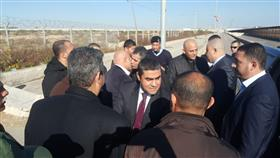 وفد من المخابرات المصرية يصل غزة