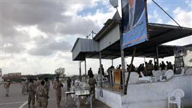 من الهجوم الحوثي على قاعدة العند