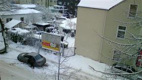 إعلان حالة التأهب للكوارث في جنوب شرق ألمانيا بسبب الثلوج