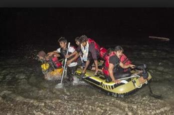 ضبط 97 مهاجرًا غير شرعي غرب تركيا أثناء محاولتهم الدخول للجزر اليونانية