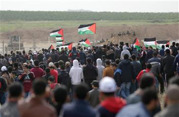 إصابات خلال قمع الاحتلال لمسيرات العودة في غزة