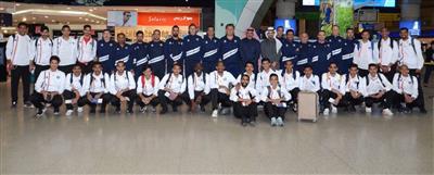 منتخب الكويت الأولمبي لكرة القدم يتوجه إلى قطر للمشاركة في بطولة ودية رباعية