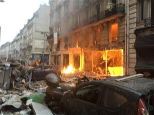 فرنسا: ارتفاع عدد مصابى انفجار باريس إلى 47 شخصا