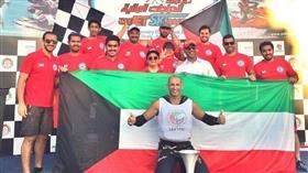 يوسف العبدالرزاق يحقق المركز الأول في بطولة الامارات الدولية للدراجات المائية