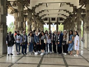 «كن من المتفوقين» يزور مشروعين يمولهما الصندوق الكويتي للتنمية في طاجيكستان