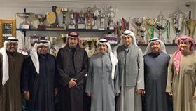 أعضاء مجلس إدارة نادي الكويت للألعاب الشتوية
