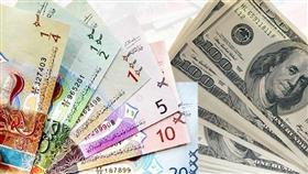 الدولار الأمريكي يرتفع أمام الدينار إلى 0.303 واليورو ينخفض إلى 0.345