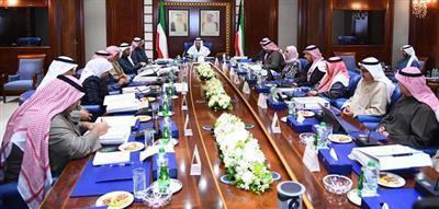 الشيخ جابر المبارك الحمد الصباح رئيس مجلس الوزراء يترأس الاجتماع ال121 للمجلس الأعلى للبترول