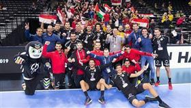 منتخب مصر يتأهل للدور الثاني في كأس العالم لكرة اليد