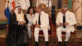 السفير محمد خلف يقدم أوراق اعتماده سفيرًا غير مقيم لدى الدومينيكان