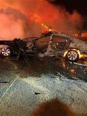 وفاة مواطن واصابة آخر في حادث تصادم على طريق العبدلي