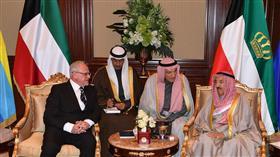 سمو الأمير يتسلم أوراق اعتماد عدد من السفراء