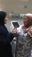 فلبينية مرافقة لإحدى المريضات بمستشفى الصباح تشهر إسلامها على يد واعظة جمعية صندوق إعانة المرضى