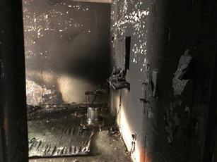 إصابة مواطنة جراء حريق شب داخل منزل في «سلوى»
