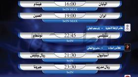 أبرز المباريات العالمية ليوم الخميس 24 يناير 2019