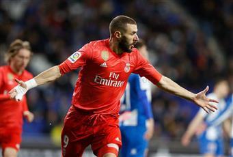 ريال مدريد يكتسح إسبانيول في ليلة تألق بنزيما