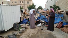 «بلدية الفروانية»: رفع حمولة 600 م3 مخلفات و10 سيارات مهملة وإزالة تعديات على أملاك الدولة بالجليب