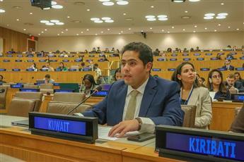 الكويت تؤكد دعمها للدول لمواجهة تحديات تحقيق التنمية الوطنية