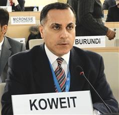 مندوب الكويت الدائم لدى الأمم المتحدة والمنظمات الدولية في جنيف السفير جمال الغنيم