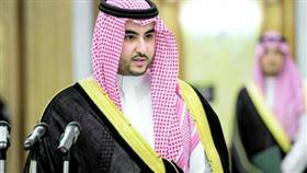 نائب وزير الدفاع السعودي الأمير خالد بن سلمان