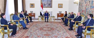 السيسي: تحويل مصر إلى مركز إقليمي للتنمية الزراعية