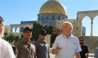 وزير زراعة الاحتلال الإسرائيلي يقتحم «الأقصى» برفقة مئات المستوطنين