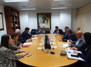 السفير وليد الخبيزي: نواصل التعاون مع الاتحاد الأوروبي لدعم ملف الإعفاء من الشنغن