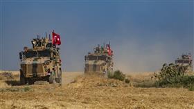 آليات عسكرية تركية في تل أبيض شرق الفرات