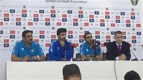 مدرب المنتخب الكويتي خلال المؤتمر الصحفي