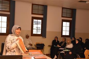 رقية حسين: طلبة «بريق» يتعاملون مع التحديات بفكر متجدد ونظرة مشرقة للحياة