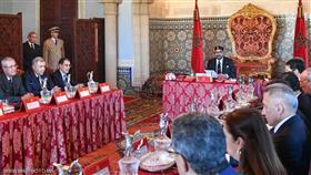 العاهل المغربي يستقبل أعضاء الحكومة الجديدة