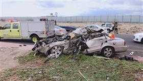 حادث مروع ينهي حياة 7 أشخاص من أسرة واحدة في السعودية