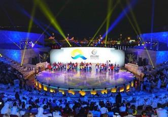 افتتاح دورة الألعاب العالمية الشاطئية في قطر