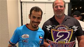 المتسابق عبدالله الفاضل يحقق لقب وصيف العالم للدراجات المائية فئة المحترفين