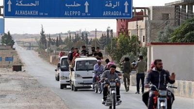 الإدارة الذاتية الكردية: نزوح أكثر من 275 ألفاً بسبب الهجوم التركي بسوريا