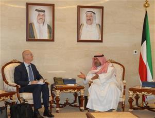 رئيس جهاز الأمن الوطني يبحث مع مسؤول بـ«الناتو» التعاون المشترك