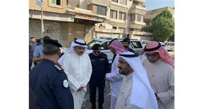 المدير العام لبلدية الكويت خلال الجولة