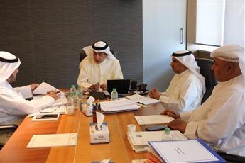 وزير التربية ووزير التعليم العالي خلال الاجتماع