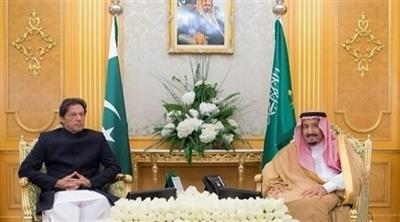 الملك سلمان وعمران خان