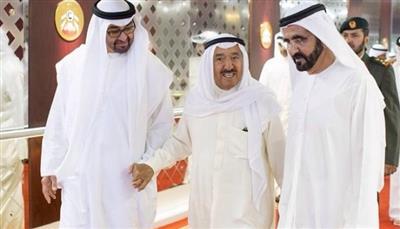 حاكم دبي: قرت عيوننا بعودة أمير الكويت لأهله وداره وأحبابه